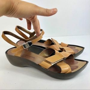 Robert Clergerie France Clogs Strappy Sandals 8.5